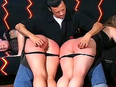 See big asses spanked and caned