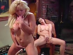 Babes on the piano bench masturbating