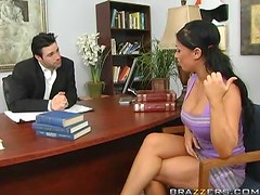 Busty School Girl Kerry Louise Blowjobs and Fucks for an A