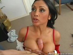 Indian Doctor Priya Anjali Rai Squirts To a Big Cock