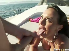 On the Love Boat with The Busty Latina Mariah Milano