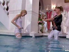 Kate And Zuzana Fight And End Completely Wet And Horny