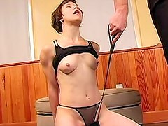 Nude and sexy princess wants her master to punish her big ass