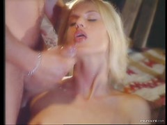 Blonde Vixen Claudia Ricci In Need Of a Hard Cock Inside Her Cunt