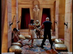 Interracial Anal Sex In Ancient Egypt Group Sex Orgy