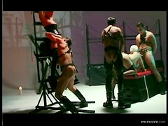 Group Sex Action In a Wild BDSM Vid With Horny Sex Slaves