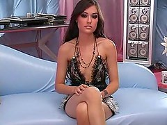Young cute Pornstar Sasha Grey in Interracial