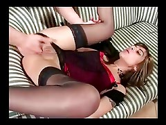 French Brunette Loves Anal by TROC
