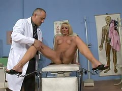 Blonde Milf With Big Boobs Gets Fucked By Her Doctor