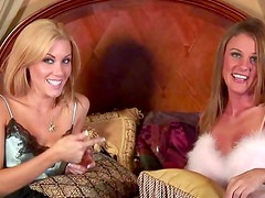 Interview with a couple of lingerie hotties