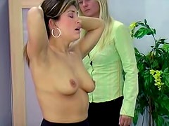Amateur teacher is punishing her lovely student after class