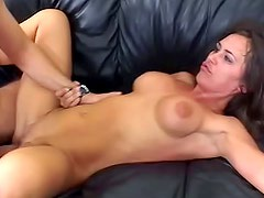 Shy angel Cherie with tight pussy is having genital interaction