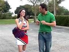 Accurate and petite Monica Sexxxton is satisfying her bf after school