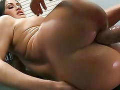Hot matured ClauDia Valentine receives a nice stab on her ass and enjoys it a lot