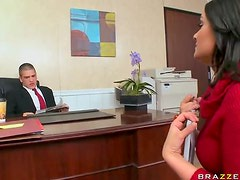 Stunning Brunette Charley Chase Gets Fucked During a Job Interview