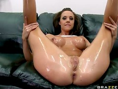 Chanel Preston Has a Rough Ass Fingering Session Before Getting Fucked