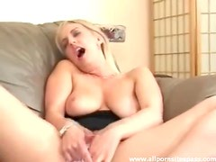 In her lovely cotton panties she masturbates