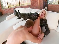 He Likes Her Boots Off & Fully Nude When Fucking.