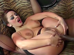 Liza Del Sierra with handsome face is having anal sex