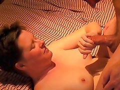 Amateur mature handjob and cum shot