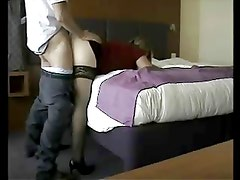 Fuck by a total stranger in a hotel room
