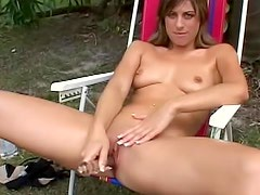 Blazing hot Lily Rose Ray masturbation