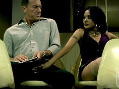 Kinky Asian Kaylani Lei Wants To Give This Man a Public Blowjob