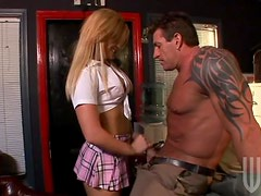 Big Muscled Teacher Fucking Sexy Blonde Schoolgirl Mackenzee Pierce