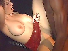 Brunette Gets Her Wet Pussy Fucked In A Interracial Hardcore Sex