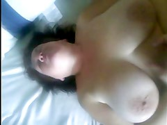 Wife with Big Boobs plays