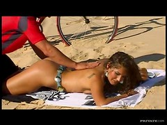 Erotic Brunette Has Steaming Hardcore Sex With A Big Cock Outdoors