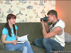 Naughty Stefany Gets Drilled on the Couch