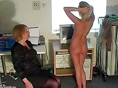 Naughty girl gets some spanking disciplining