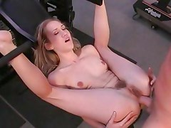 Alana Evans takes this hard dick deep in her hot ass