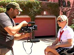 Behind the scenes with Bree Olson