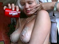 Pain and suffering for sexy blonde sub