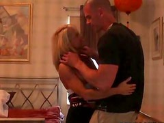 Voyeur Follows Blonde MILF To Her Place And Tapes Her Fucking