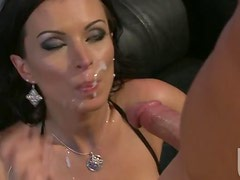 Sexy Brunette MILF Bailey Brooks Gets Her Shaved Pussy Fucked Hard