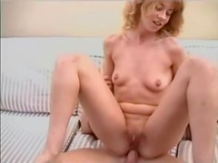 Blasting skinny small tits girl in the ass