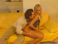 Gorgeous Blonde Eaten Out Before Being Penetrated By A Hard Cock