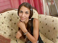 cute Columbian Teen Hasna