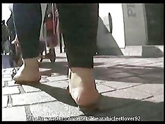 Candid arabic feet 07