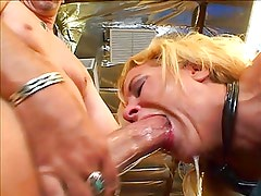 Molly choking on a cock