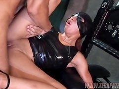 Gorgeous fetish babe Jayna Oso is getting dominated