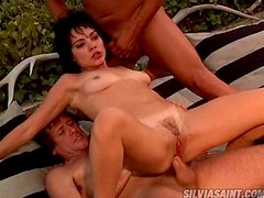 A Double Penetration Threesome For Claudia Adkins