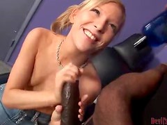 Monster Cock Sex For A Naughty Teen In An Interracial Scene