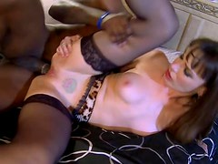 Sinful Brunette Cougar Dana Dearmond Goes Anal On a Big Black Cock