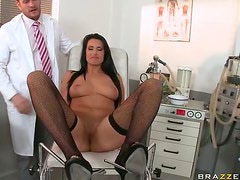 Spectacular Melissa Ria Gets Her Ass Fucked and Her Big Tits Jizzed On