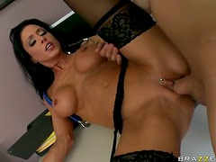 Insanely Hot Brunette Doctor Jessica Jaymes Gets Fucked Hardcore Style