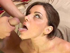 Victoria Valentino the sexy MILF gets licked and fucked